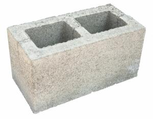 Камень стеновой двухпустотный СКЦ- 1р (крамзитобетон)